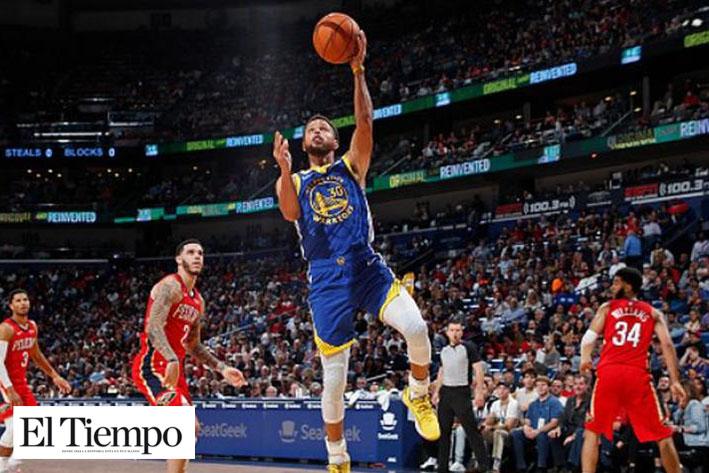 Comanda Curry triunfo de Warriors