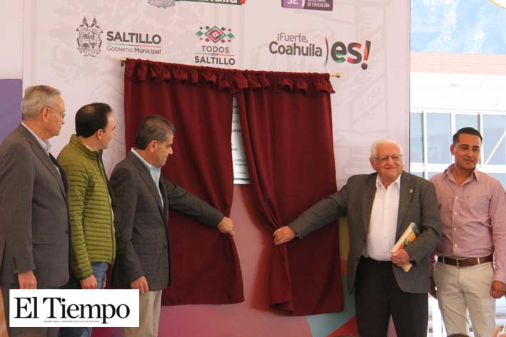Infraestructura educativa de calidad para Coahuila