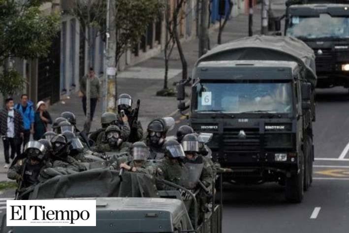 Hubo uso desproporcionado de fuerza durante protestas en Ecuador: ONU