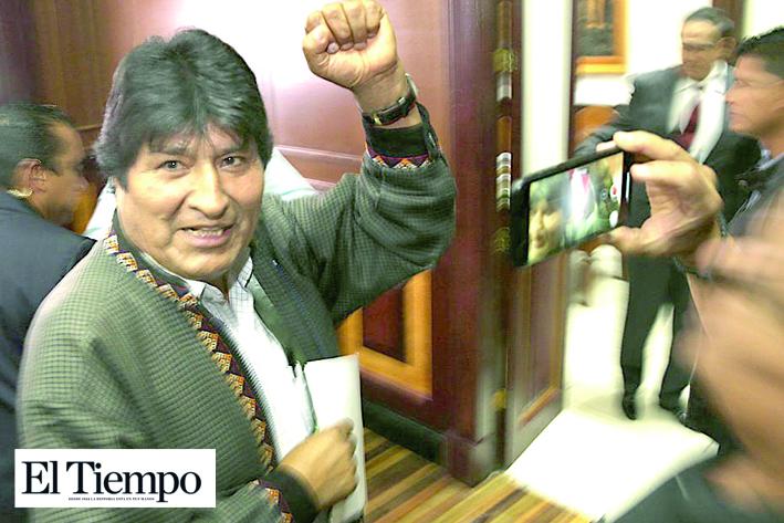 Nombran a Evo jefe de campaña frente a comicios bolivianos de 2020