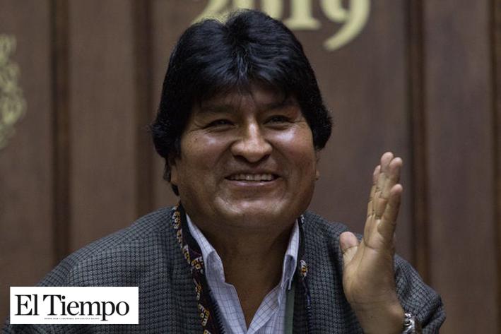 Llegué por la Patria, no por la plata: Evo Morales