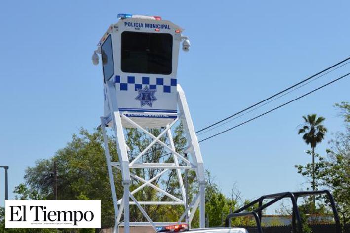 Con todo y torre de vigilancia  intentan ingresar a Banamex