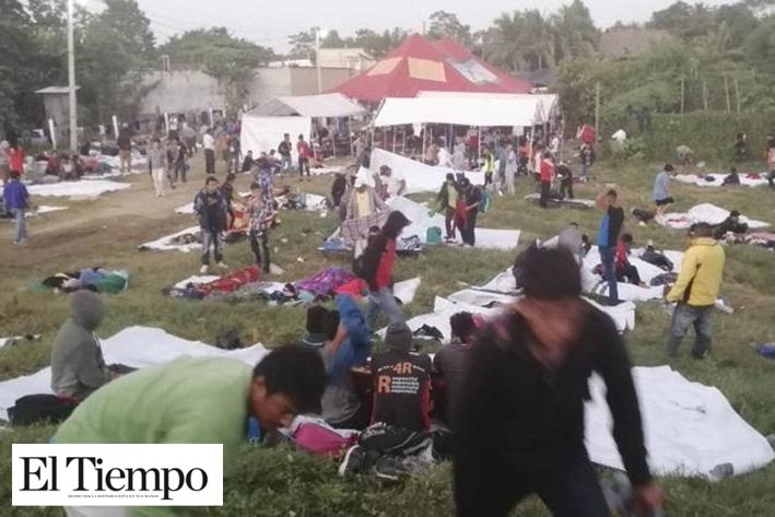 Ingresaron 1,087 migrantes; la mayoría será devuelto a su país de origen: INM