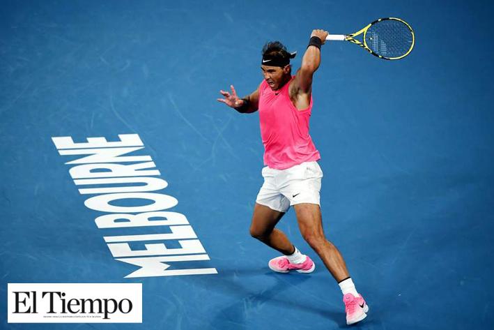 Rafael Nadal sigue avanzando
