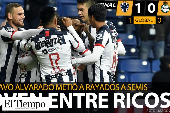 Rayados está en semifinales