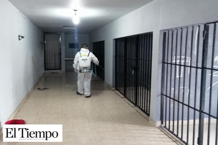 Limpian celdas de  Seguridad Pública