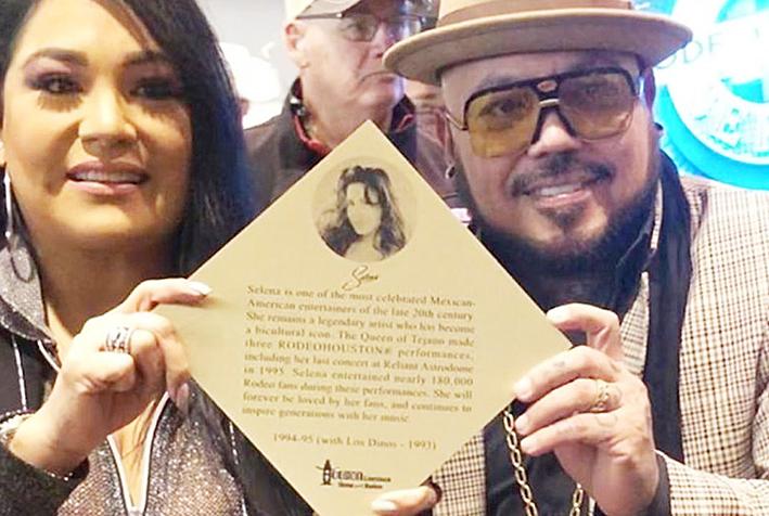 Homenajean a Selena Quintanilla en Rodeo Houston
