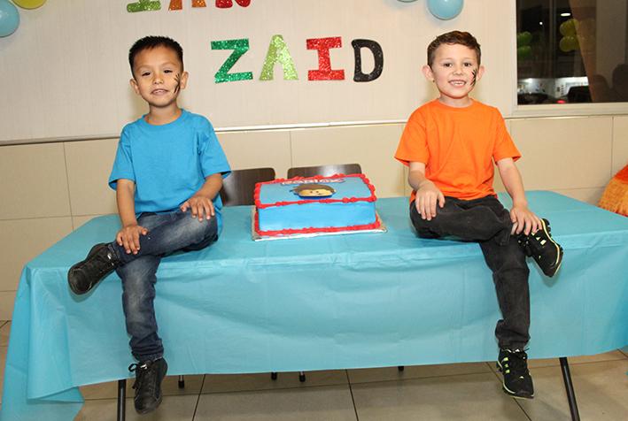 Ian y Zaid Cumple doble