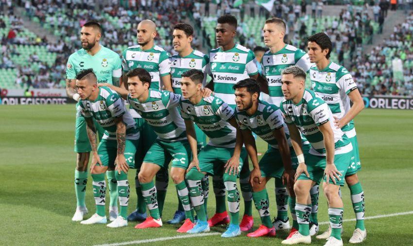 Jugadores del Santos con Covid-19