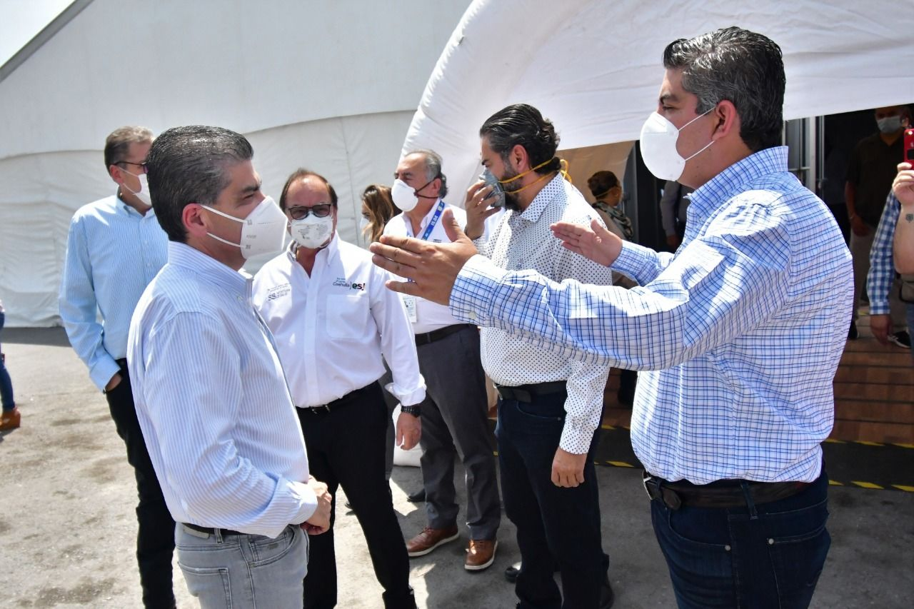Hospital Móvil se queda fijo en Monclova
