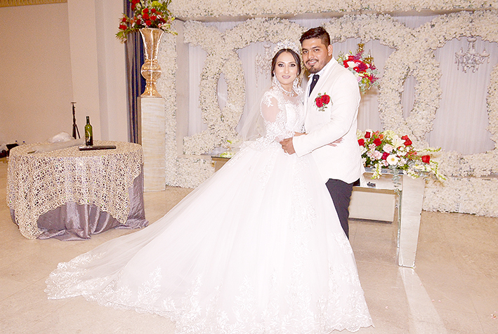 Wendy & Andrés contraen matrimonio
