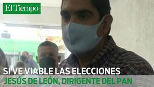 Jesús de León a la espera de reanudar las elecciones (Video)