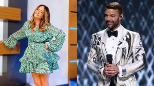 Vieja fotografía de Andrea Legarreta y Ricky Martin sorprende a fans