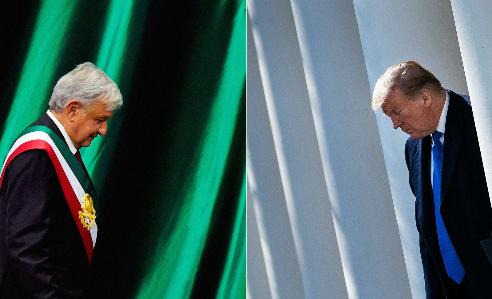 Donald Trump recibirá  'pronto' a López Obrador