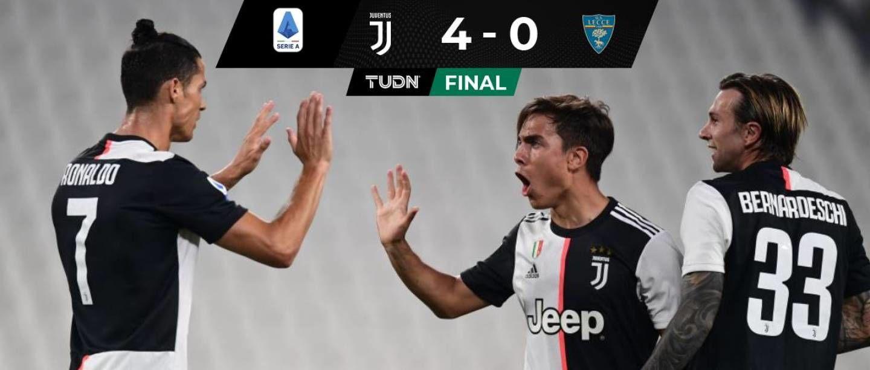 Amplio triunfo de la Juventus