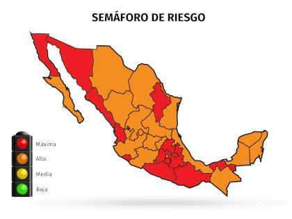 Hidalgo otra vez en semáforo rojo por Covid