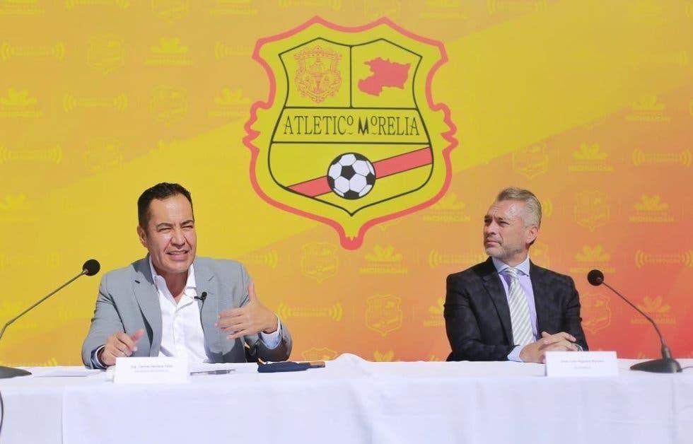 Presentan formalmente al Atlético Morelia