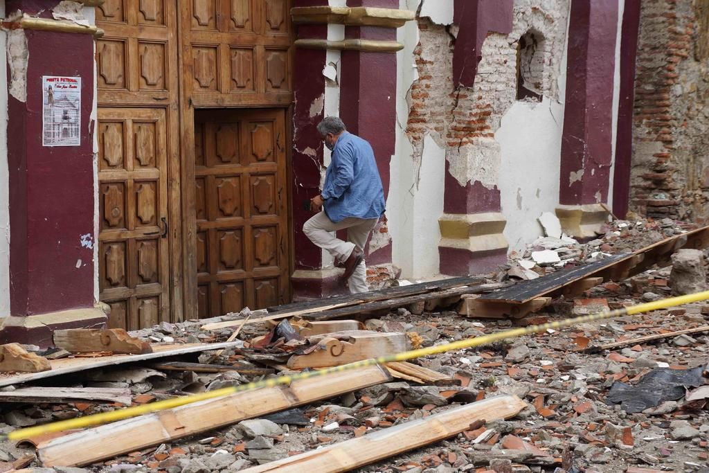 Suman más de 10 mil viviendas con daños por sismo en Oaxaca