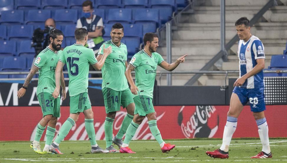 Real Madrid vence a Espanyol por la mínima