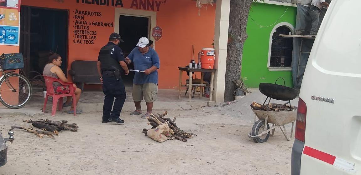 Recorren policías colonias y ejidos