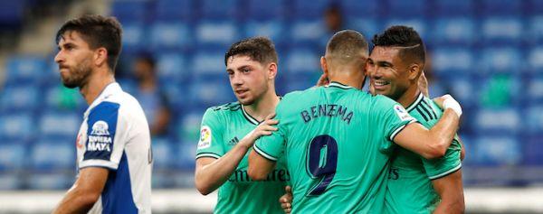 Real Madrid gana ante el Espanyol