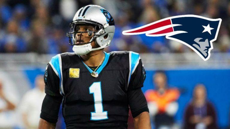 Cam Newton fichado por Patriots