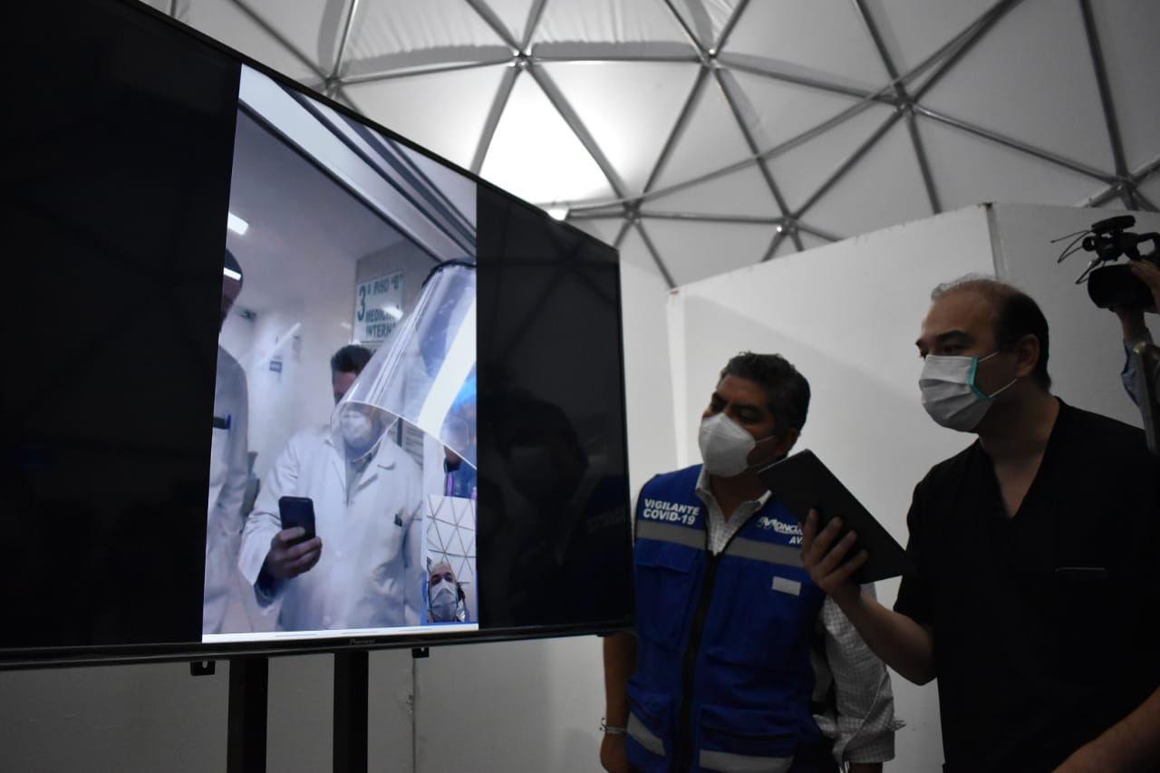 Pacientes con covid podrán comunicarse