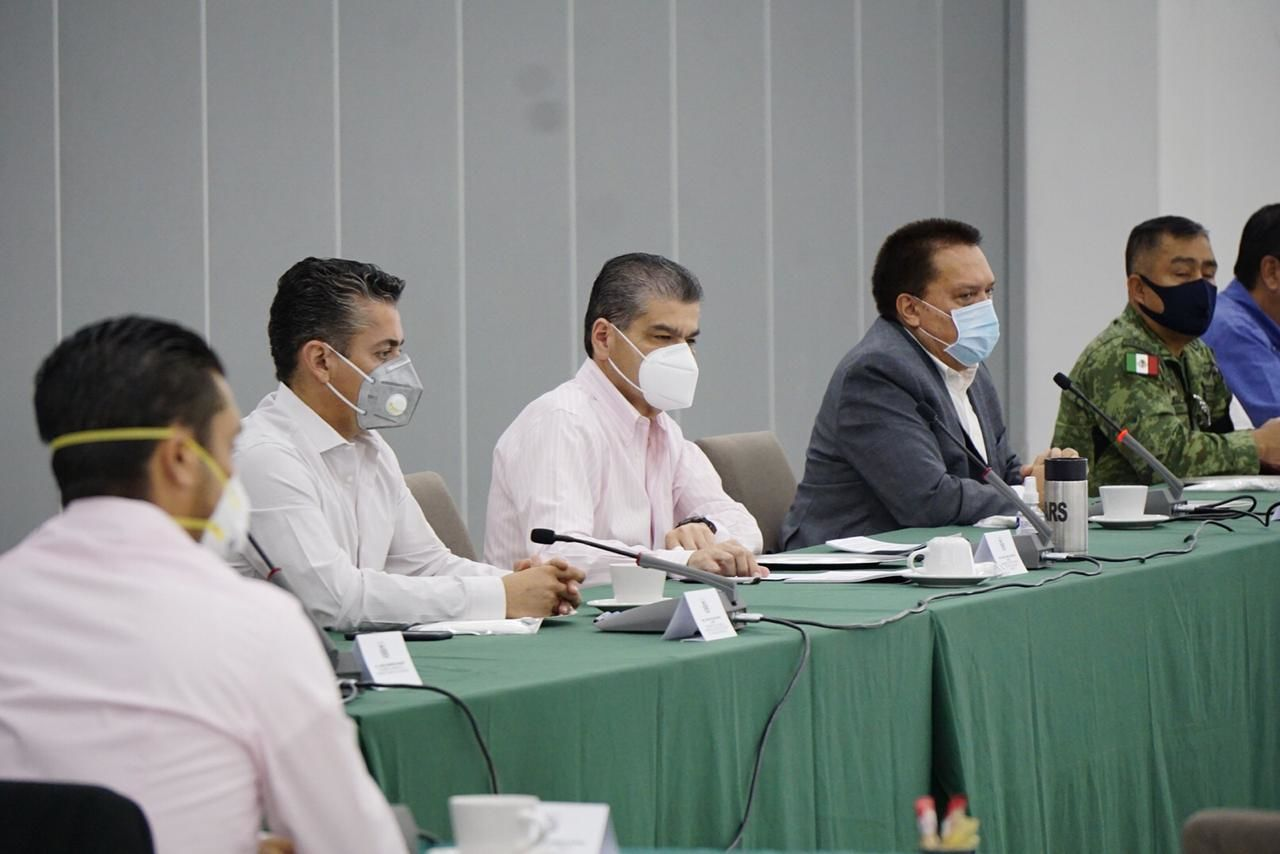 Es Coahuila ejemplo Nacional en tema de seguridad: Riquelme