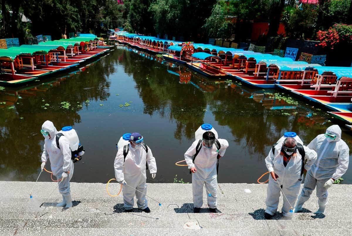 En Xochimilco, las colonias con más contagiados de Covid