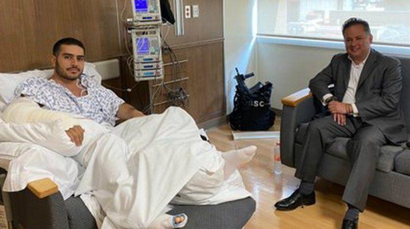 Tras atentado, Harfuch vuelve al quirofano; lo reportan estable
