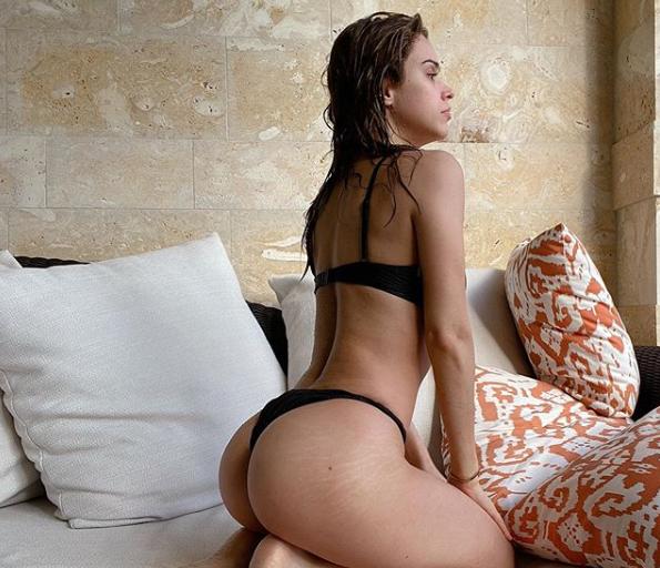 Yanet García presume sus estrías en Instagram