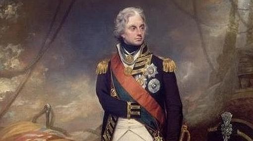 Fueron subastados tres mechones del almirante Horatio Nelson