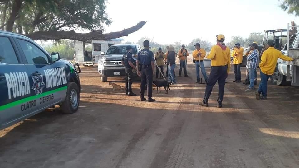 Controla Conafor incendio en el Valle de Cuatro Ciénegas