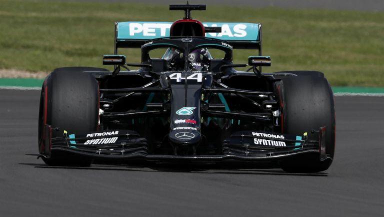 Hamilton logró la pole