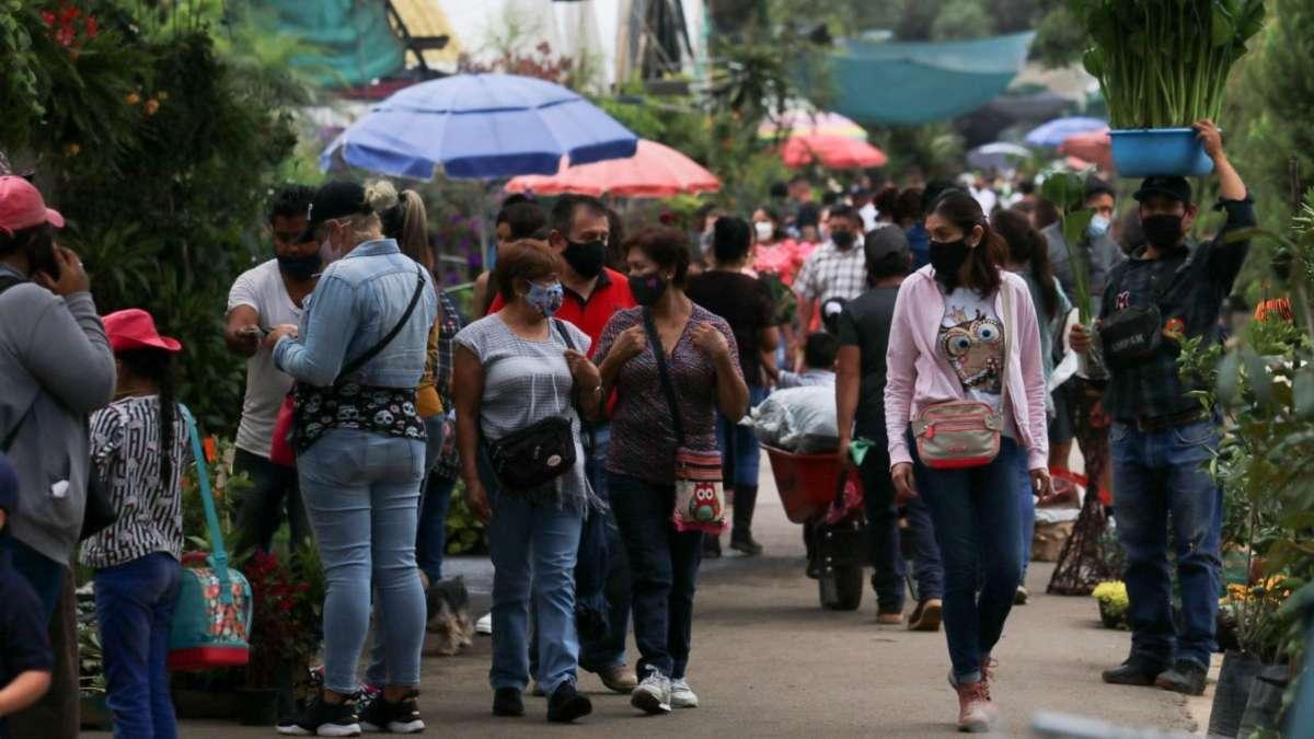 Con nuevo máximo de contagios por Covid-19: México