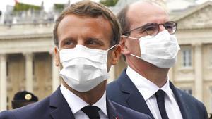 Uso obligatorio de la cubrebocas se expande en Francia