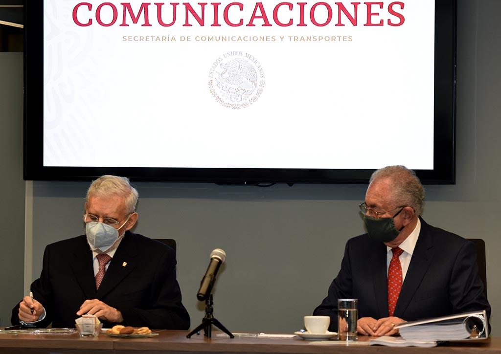 Jorge Arganis recibe oficialmente la SCT