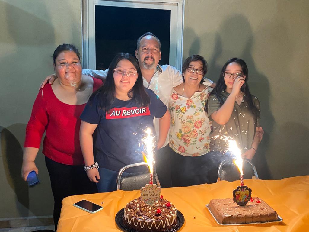 Paco Palmas celebra su cumpleaños