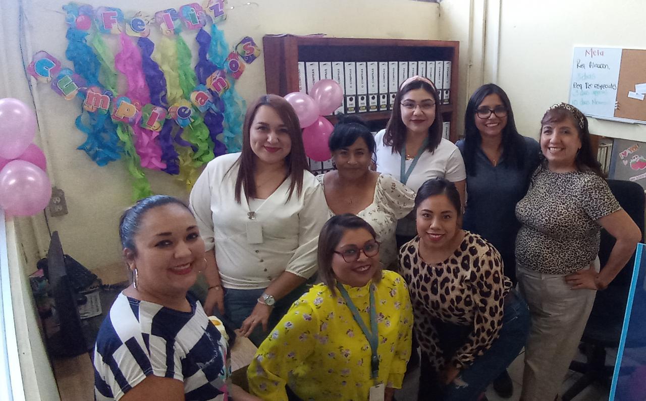 Sandra festeja su cumpleaños