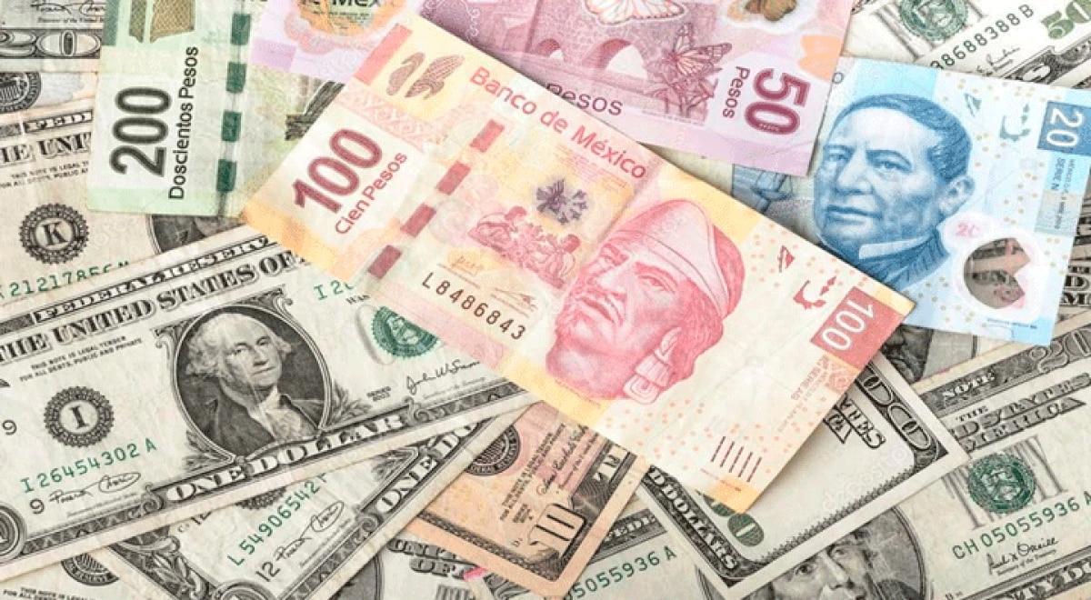 Primera vez en tres meses que el dolar esta en menos de 22 pesos