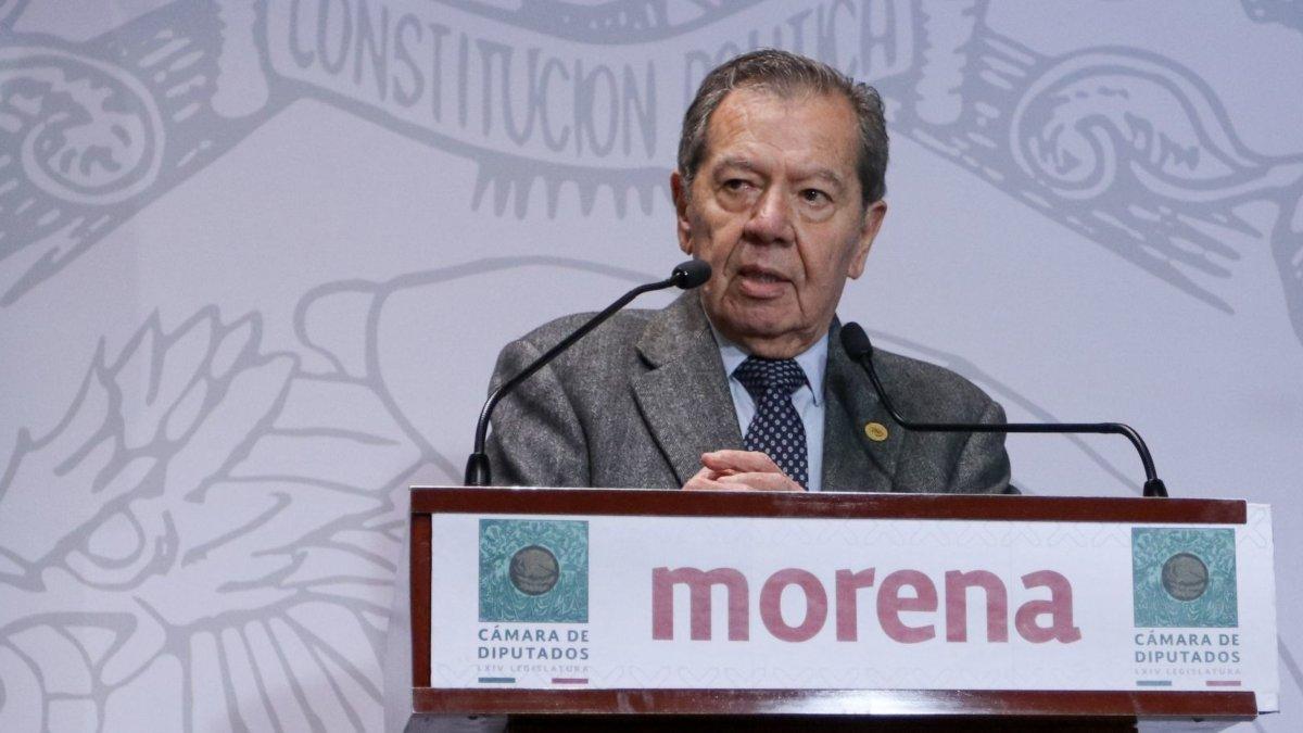 Muñoz Ledo va por dirigencia de Morena
