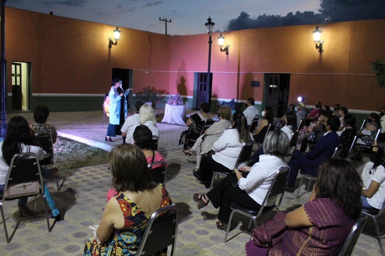 Reactivan en San Buena las actividades de teatro  al aire libre con una obra