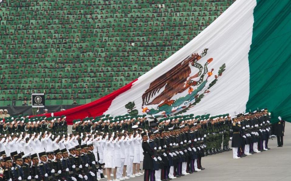 Sin poder ver Grito y Desfile Militar de manera presencial, gracias al COVID-19