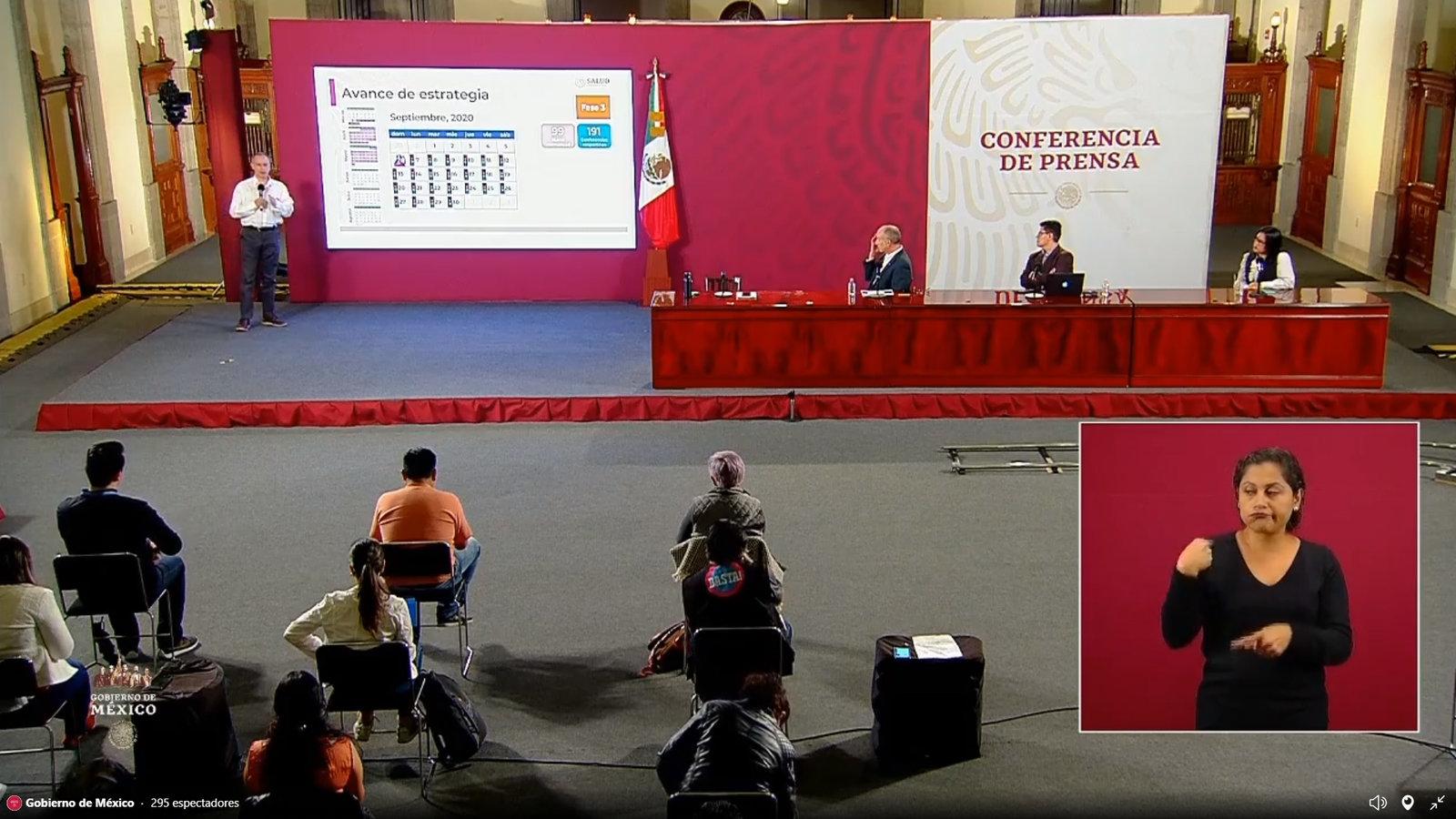 ReportaSsa634,023 casos confirmados porCOVID-19; defunciones ascienden a 67,558 en México