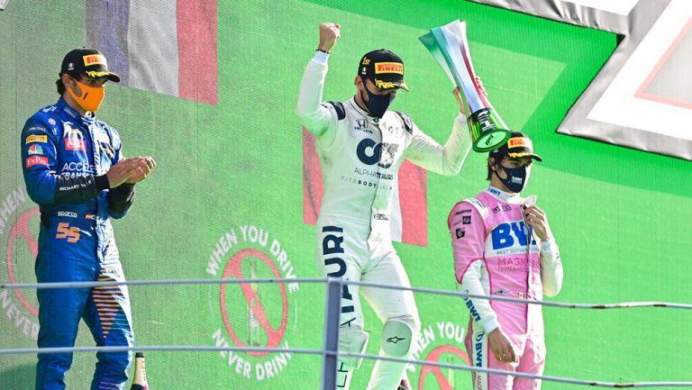 Pierre Gasly gana su primer Gran Premio
