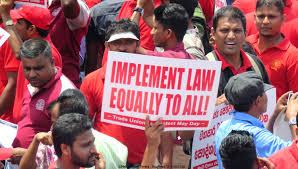 Protestas en Sri Lanka contra enmienda constitucional favorable al Gobierno