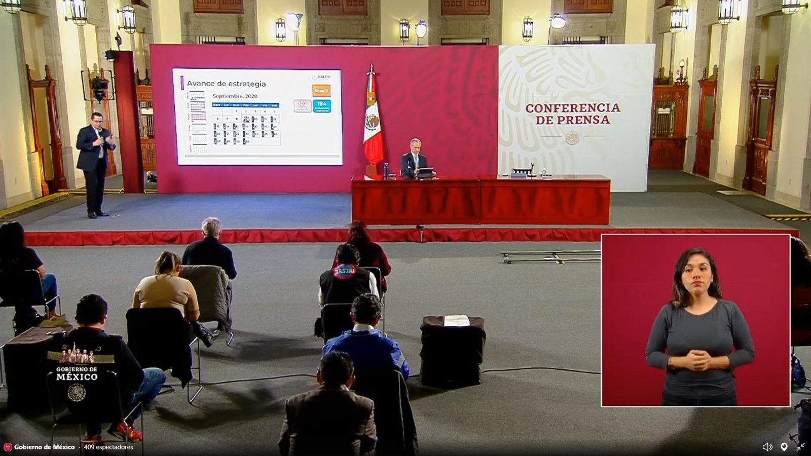 México roza las 70 mil muertes por COVID-19; 647,507 los casos confirmados