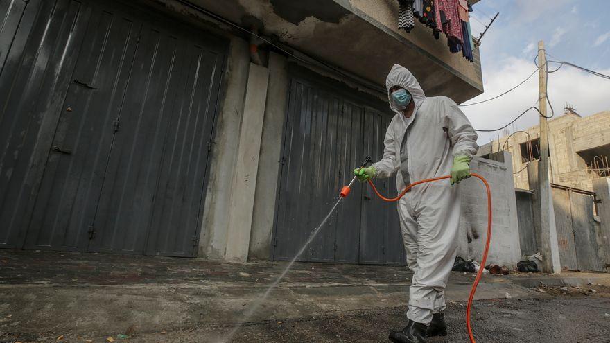 Los territorios palestinos siguen sumando máximos diarios de contagio
