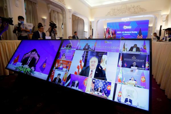 Mike Pompeo insta al Sudeste Asiático a no dejarse 'avasallar' por China