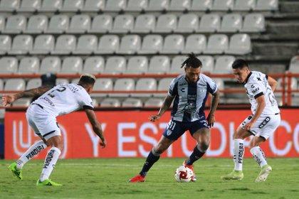 Uruguayo Montes dice estar sorprendido por el dinamismo del fútbol mexicano